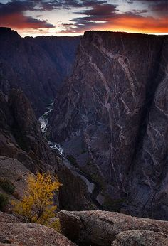 Black Canyon National Park in Colorado. These are the things that pulled me home.