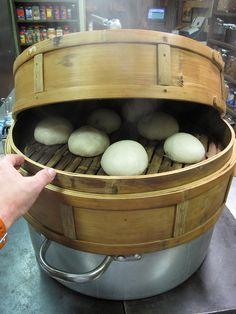 Pan chino frito y al vapor te ense amos a cocinar recetas for Cocinar a 40 grados