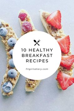 These healthy breakfast recipes for weight loss are so delicious, yet healthy and packed with nutrients. They will not only help you lose weight, but they'll help you fall in love with healthy food too! Healthy food doesn't have to be boring, and these breakfast recipes will prove exactly that. Without further ado, let's jump right into them!