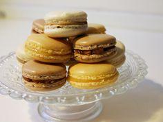 Tre slags macarons - færdige, november 2012