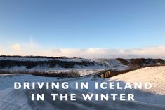 Driving in Iceland i