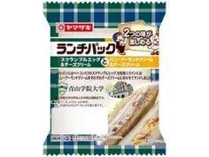 ヤマザキ ランチパック スクランブルエッグ&チーズクリームとハニーアーモンドクリーム&チーズクリーム 袋2個   商品情報・クチコミ   食品クチコミサイト もぐナビ