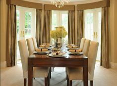 Window Covering Ideas For Dining Room. Curtain Design For Dining Room.  Curtain Ideas For