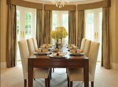 8 curtain ideas for dining room