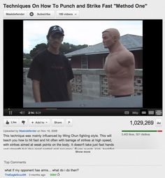 What if your oponnent has arms? 25 YouTube Comments That Are Actually Funny - BuzzFeed Mobile