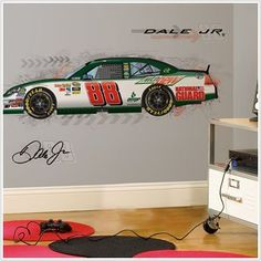 Dale Jr Race Car Hayden Decal
