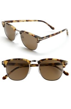 Tom Ford 'Henry' Retro Sunglasses | Nordstrom - StyleSays