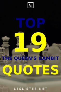 The Netflix series The Queen's Gambit has made chess popular in the broader culture. Check out the top 19 The Queen's Gambit quotes. #chess #thequeensgambit #quotes #BethHarmon Your Guardian Angel, Netflix Series, Powerful Quotes, My Brain, Program Design, Chess, Save Yourself, Strong Women, Life Lessons