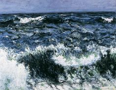 "thorsteinulf: "" Roderic O'Conor - The Wave (1898) """