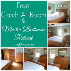 From Catch All Room To Master Bedroom Retreat Everyday Family Living