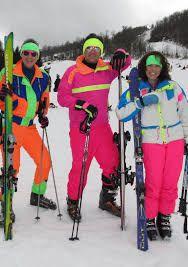 Image result for 1980s ski fashion
