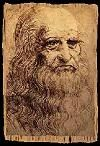 Leonardo da Vinci Self-Portrait  Click-through to info about his equestrian statue of Francesco Sforza (no longer exists). http://www.lairweb.org.nz/leonardo/equestrian.html#