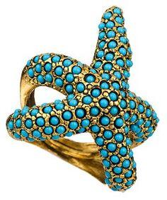 starfish ring.