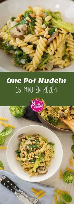 are hungry but have little time? Then try this One Pot Pasta with Champignon … You are hungry but have little time? Then try this One Pot Pasta with Champignon . - -You are hungry but have little time? Then try this One Pot Pasta with Champignon . Healthy Eating Tips, Healthy Snacks, Baby Food Recipes, Pasta Recipes, Broccoli Recipes, Egg Recipes, Free Recipes, Mushroom Broccoli, Broccoli Pasta