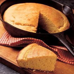 Cornbread.  I left out the sugar, and used Olivia's Outstanding Multipurpose Gluten-free Flour. It was a little more cake-like than I'm used to, maybe because of the butter?,  but I really liked it. It's a keeper.