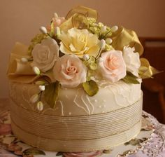 Cherry on a Cake: MY CAKE DECORATING CHALLENGE - THE FINAL PART