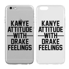 Tumblr Kanye and Drake quote phone case