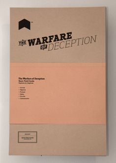 The Warfare of Deception.
