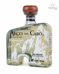 "Arco del Cabo Tequila Reposado  www.LiquorList.com ""The Marketplace for Adults with Taste!"" @LiquorListcom #LiquorList"