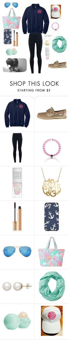 """""""P is for PREPPY"""" by logoloops23 ❤ liked on Polyvore featuring Sperry, NIKE, Yves Saint Laurent, Ray-Ban, Lilly Pulitzer, Honora, Smartwool and Eos"""