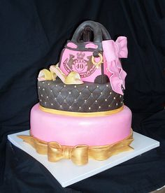 Shoes and bags and cake, what more could a girl ask for ??
