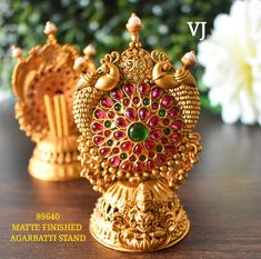 Latest Gold Jewellery, Gold Temple Jewellery, 1 Gram Gold Jewellery, Indian Jewellery Design, Indian Jewelry, Gold Jewelry, Jewelry Design, Gold Bangles, Diamond Earrings
