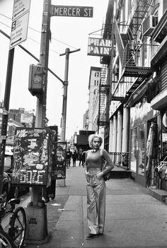 Laurel Pantin in Chanel, in NYC, via Ann Street Studio blog