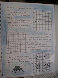 Waldorf ~ 7th grade ~ Math ~ The Coordinate (Cartesian) Plane