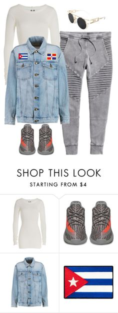 """""""Untitled #6096"""" by stylistbyair ❤ liked on Polyvore featuring Rick Owens and Current/Elliott"""