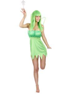 Este disfraz de hada verde es perfecto para Carnaval