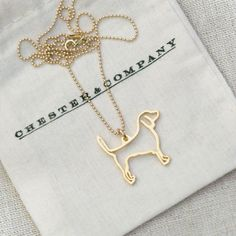 Beagle Necklace - I need one of these