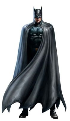 Batman (Justice League Heroes) | By: Albert Co via Behance