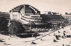 Central Market in Phnom Penh [1960s], #Cambodia | © unknown