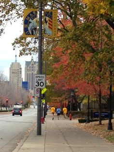 Consider running the Marquette mile, around Wisconsin Avenue and around the campus. Or begin at St. Joan or Arc chapel and take jog down to the lakefront and Milwaukee Art Museum.