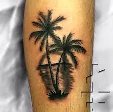 Image result for palm tree tattoo