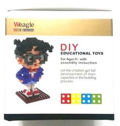 Toy- Detective Conan -Small Building Blocks 213 pcs Mini Figure Block Great Gift #Weagleminiblock
