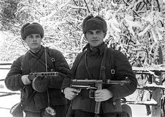 Defence of Moscow. 1941 The Soldiers Of The Red Army.