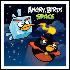 Angry Birds Beverage Napkins, $3.49 Cdn pkg/16. http://www.allthatstuff.net/AngryBirds/angry-birds-party-supplies.html