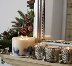 The White Company. Decorating with scent   This Christmas set a welcoming festive tone with our warming seasonal scents: