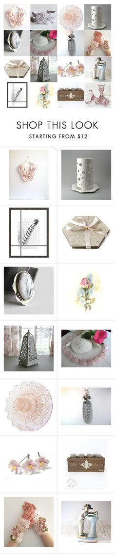 """""""Sweetly Neutral"""" by inspiredbyten on Polyvore featuring Lladró and vintage"""