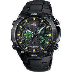 Casio Men's 'Edifice' Label Solar Power Atomic Chronograph Watch