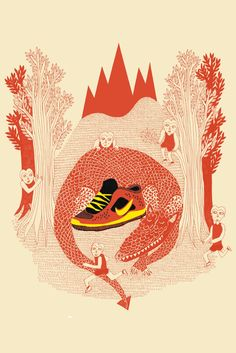 Illustration for Nike by Esther McManus