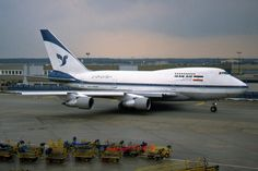 Iran Air Boeing 747SP-86 (registered EP-IAC)