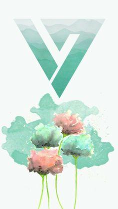 SEVENTEEN LoGo theme turquoise
