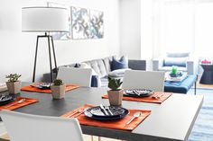 Let's have some breakfast, then change the world in this dinning room  I Décor Aid