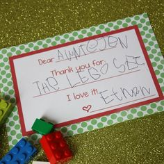 Definitely doing this when my child can write!