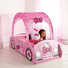 1000 images about chambre enfant hello kitty on pinterest for Housse de voiture hello kitty