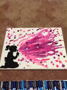 Bubbles! Crayon Melt Art