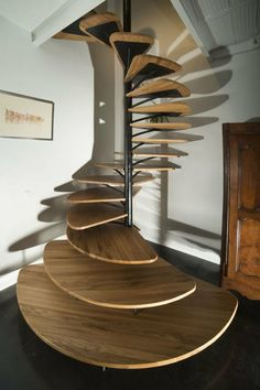 escalier en colimacon design paul coudamy