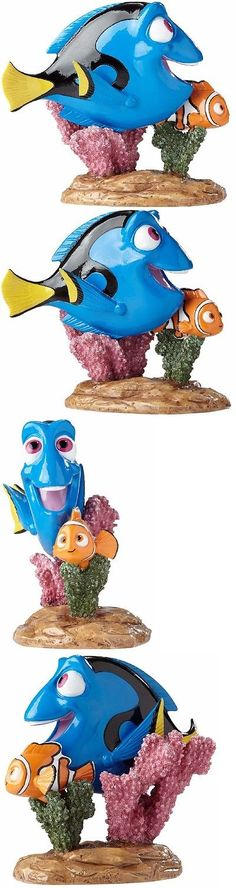 Finding Nemo 50310 Finding Nemo Seascape With Motion And Sound - halloween fish tank decorations